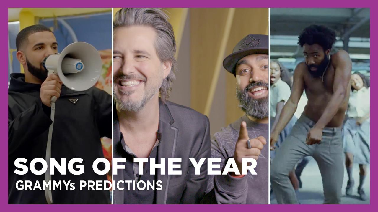 KiSS 92.5 'Song of the Year' GRAMMYs Predictions
