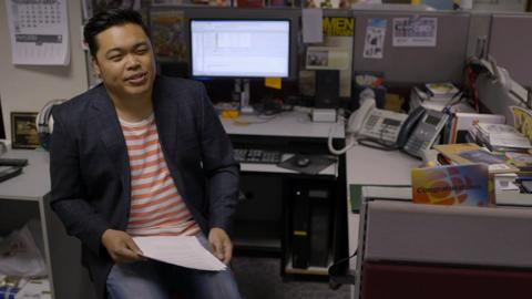 Chris dela Torre – Filipino radio dj