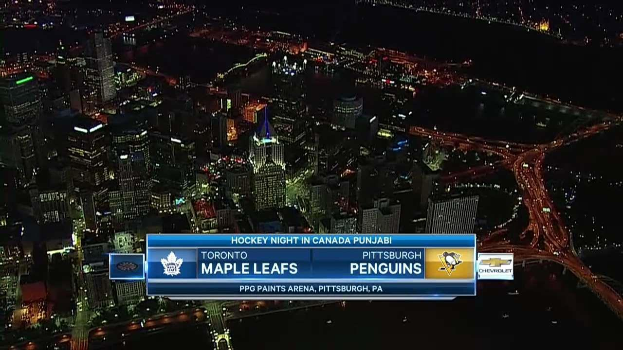 PRE GAME: Maple Leafs vs Penguins, Dec 9 2017 - Video