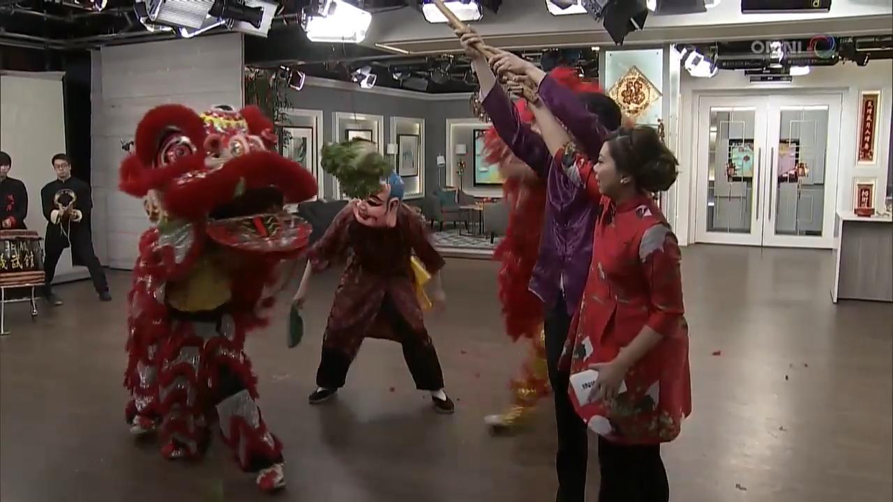 第一節:醒獅隊南拳北腿 Part 1: Lion Dance