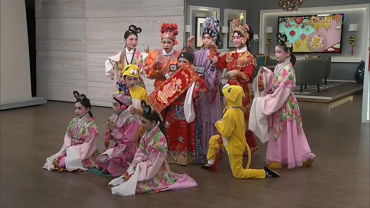 第六節:粵劇小豆丁賀新歲 Part 6: Cantonese Opera by Little starlets