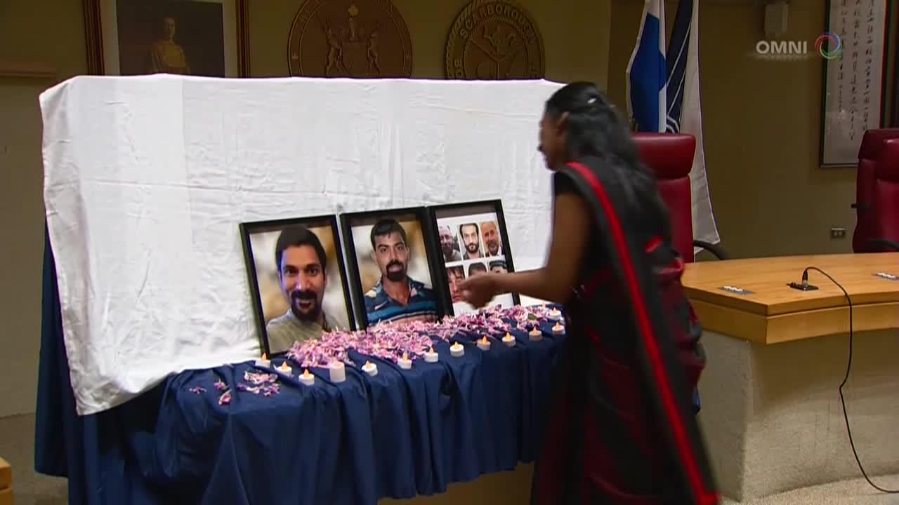 Tamil community mourns victims in the McArthur case