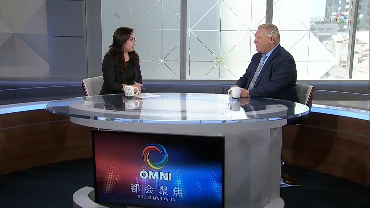 杨捷专访保守党党魁 Doug Ford – May 16, 2018 (ON)