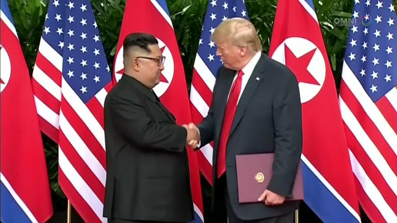 Trump, Kim find common ground