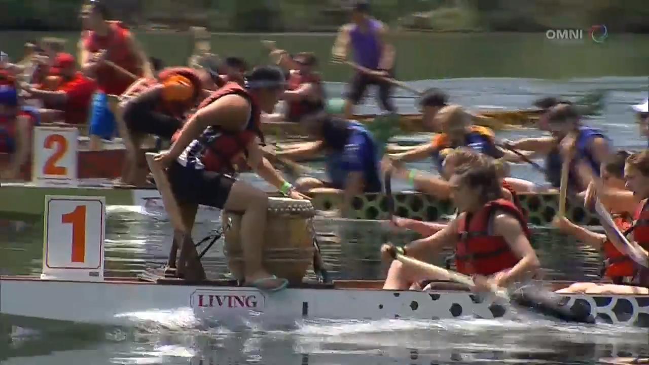 多伦多国际龙舟节周末举行 – Jun 18, 2018 (ON)