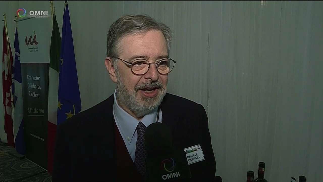 Daniele Cernilli, Doctor Wine a Montreal