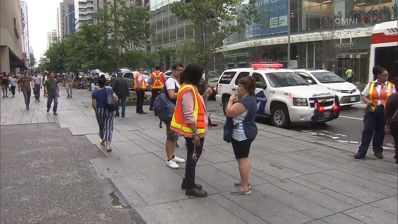 多伦多地铁发生男子疑似被人推落铁轨被车撞死命案 – Jun 18, 2018 (ON)