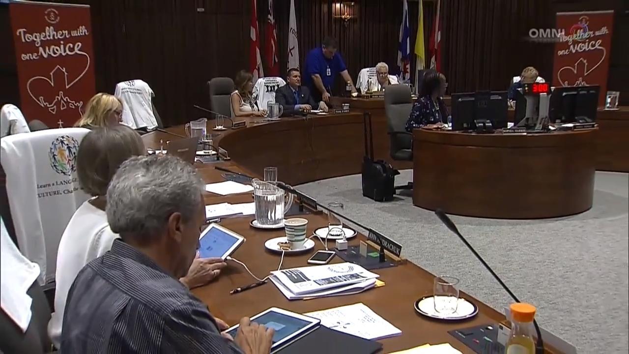 多伦多天主教教育局讨论国际语言课程– Jul 13, 2018 (ON)