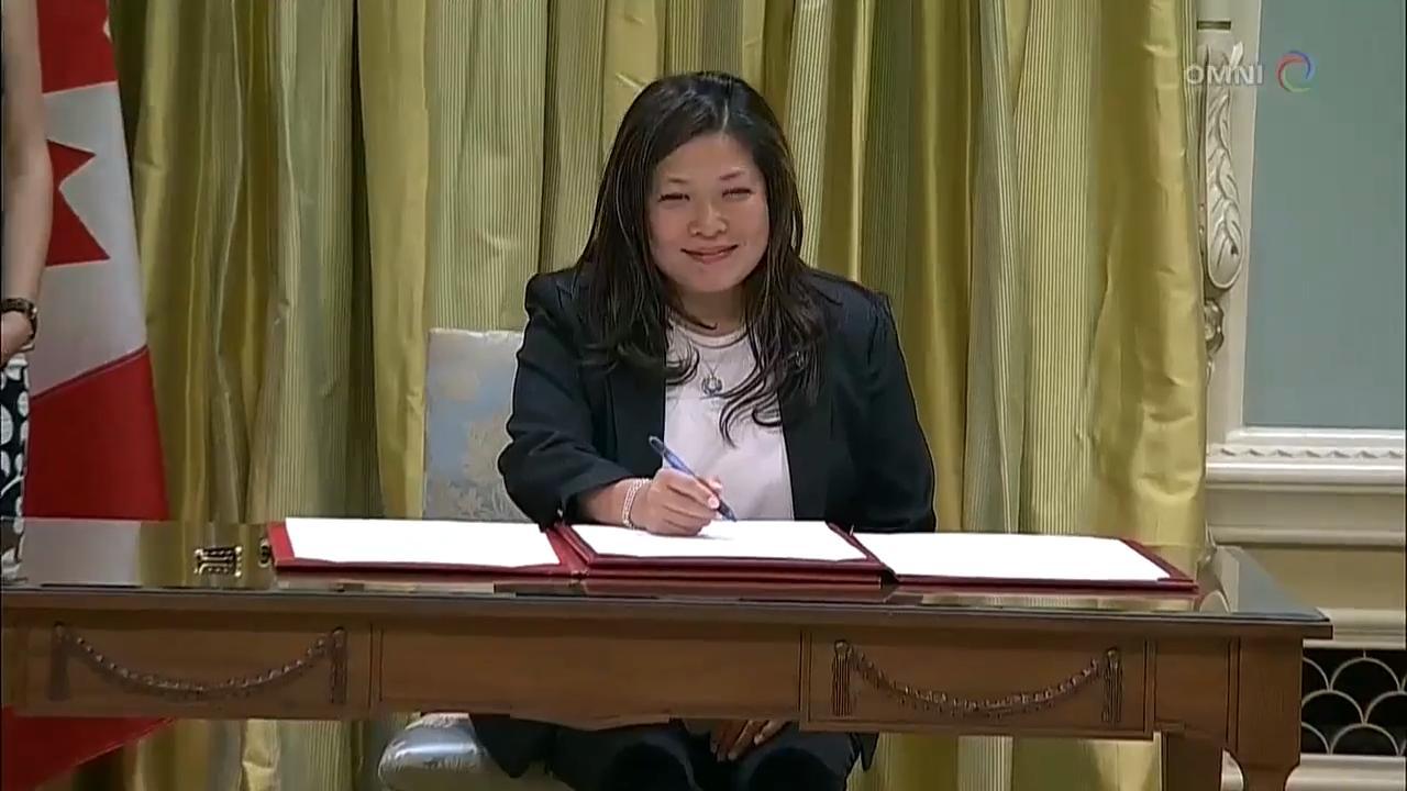 华裔国会议员伍凤仪进入联邦内阁 – Jul 18, 2018(ON)