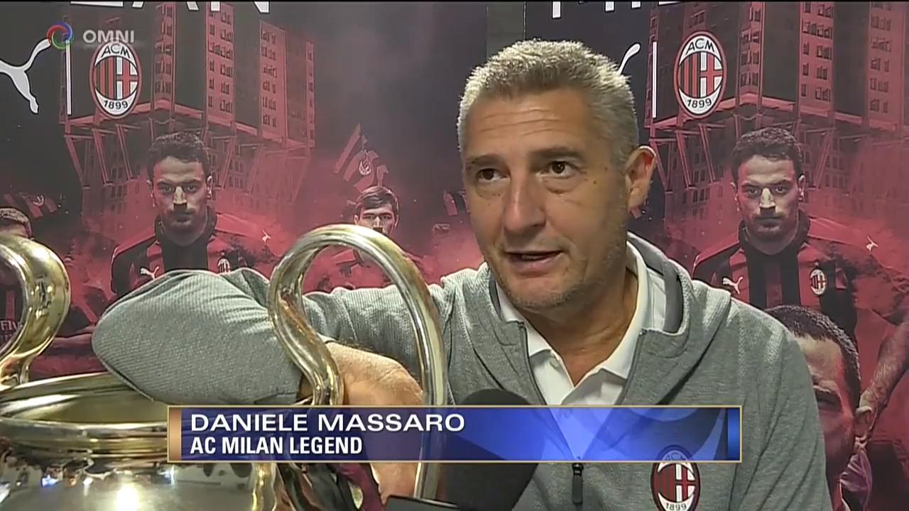 """Massaro al Milan Club di Montreal: """"Gattuso straordinario, fiducia in Elliott"""""""