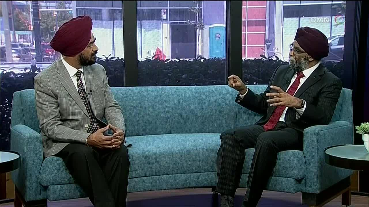 Harjit Sajjan Interview
