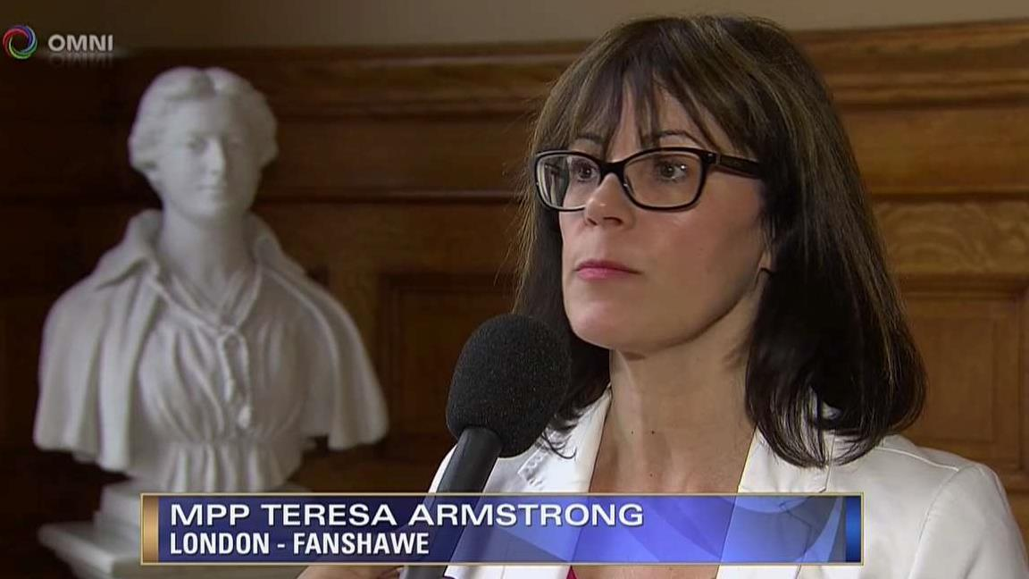 ONE MONTH OF PC GOVERNMENT INTERVIEW WITH MPP TERESA ARMSTRO