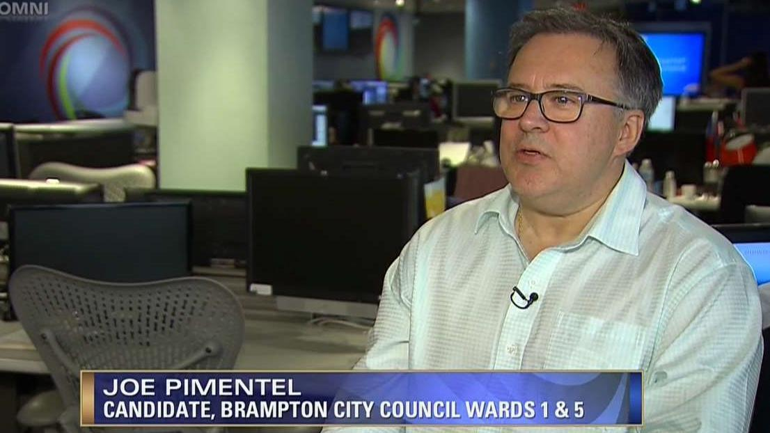BRAMPTON CITY WARDS 1 & 5 CANDIDATE JOE PIMENTEL