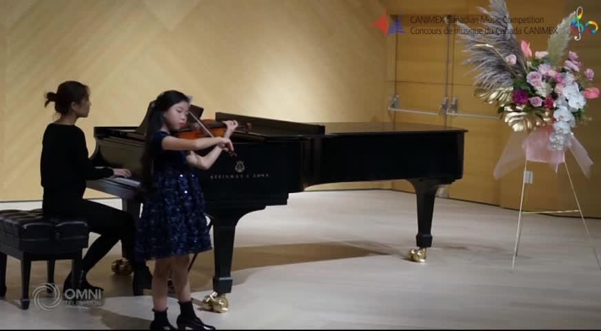 加拿大全國音樂比賽 溫哥華八歲華裔女童獲鋼琴演奏兩個組別冠軍(BC) – 2018OCT15