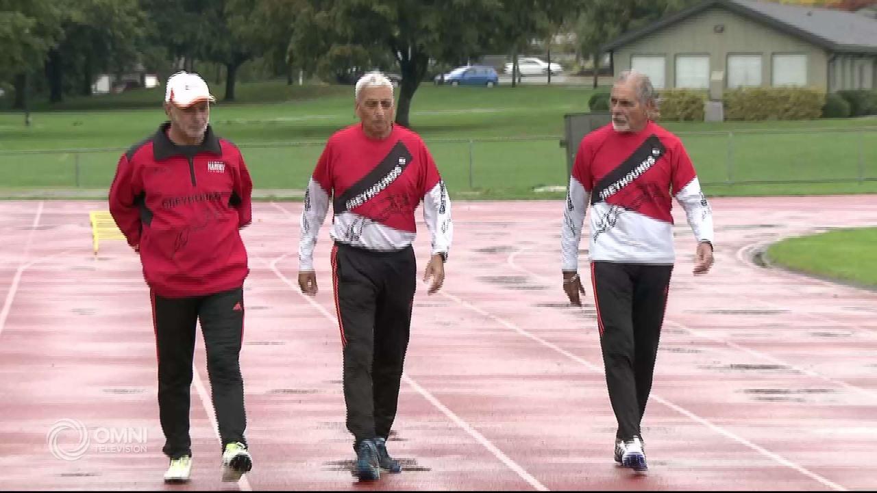 Surrey's senior track stars