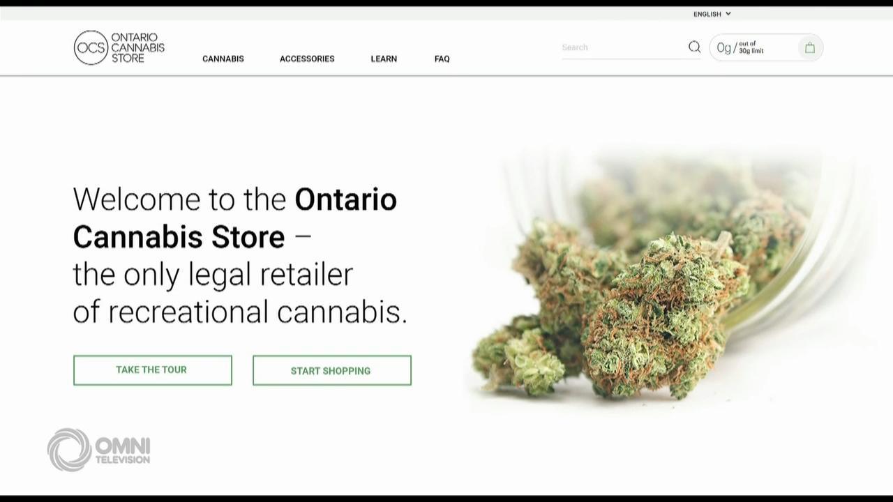 官方经营的大麻店网站下周开始运作– Oct 12, 2018 (ON)