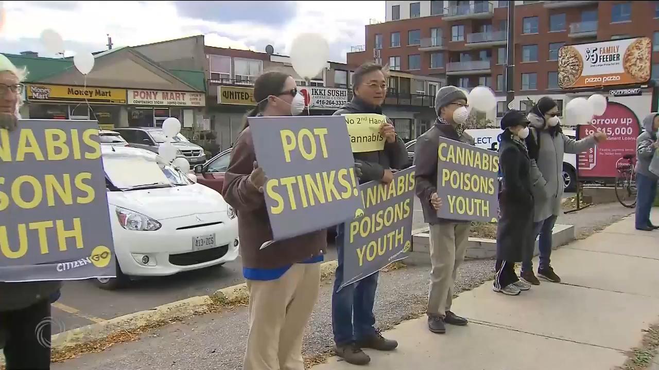 團體繼續反對大麻合法化 – Oct 17, 2018 (ON)