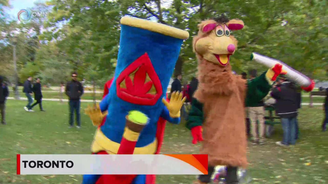 Cannabis legale: Toronto festeggia al parco