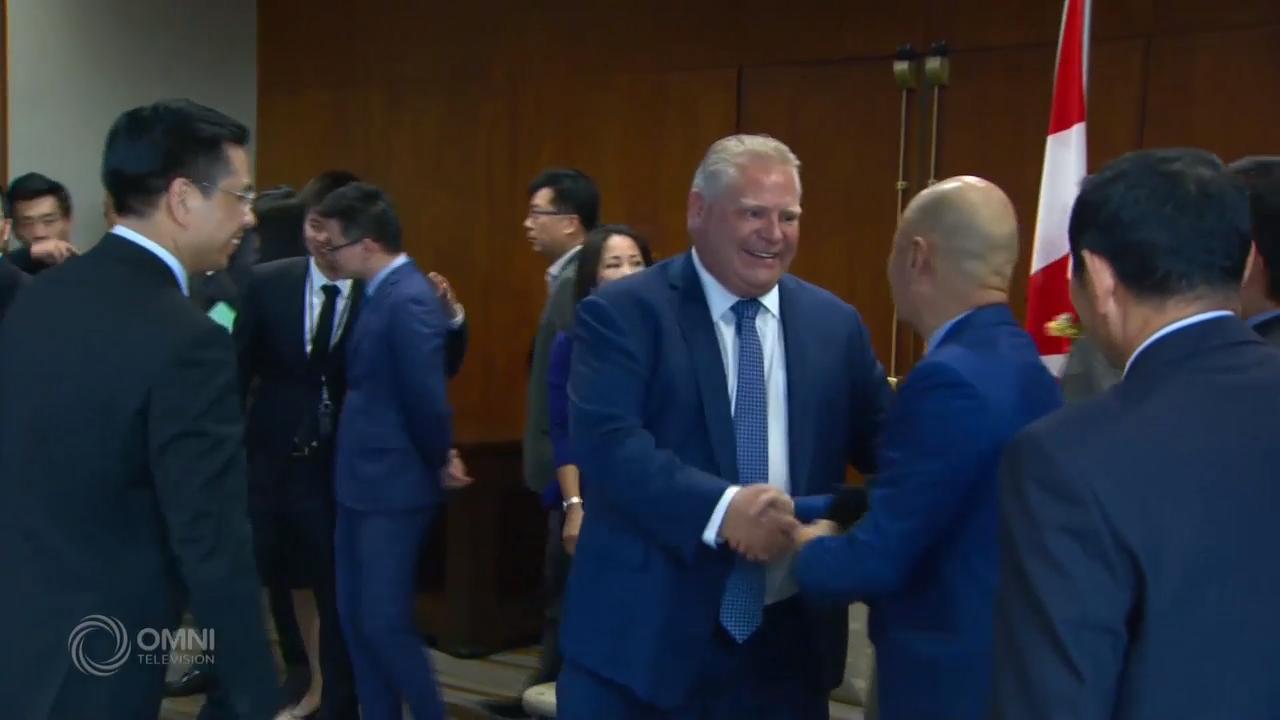省长福特和华商代表见面 – Oct 15, 2018 (ON)