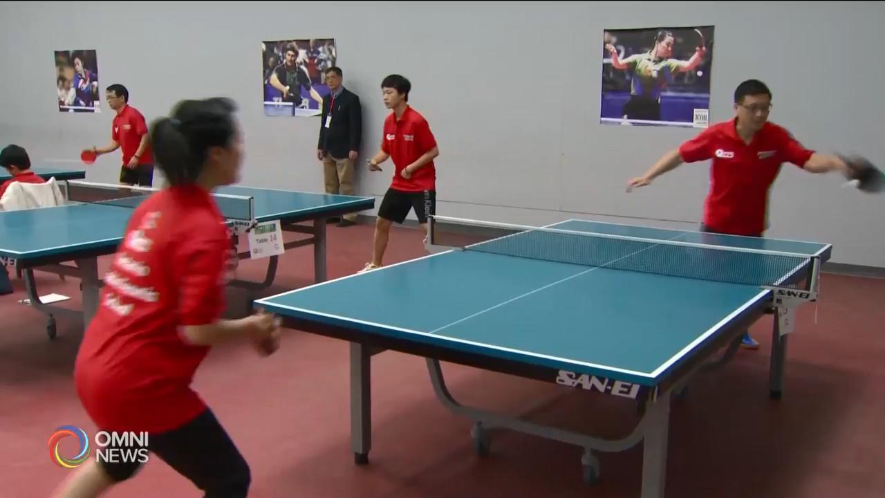 青少年乒乓球比賽增設親子組別 — Nov 19, 2018 (ON)