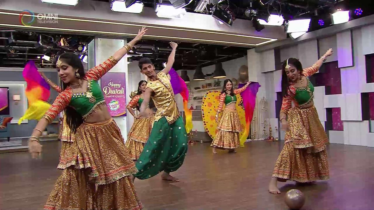 Celebrating Diwali Bollywood style!