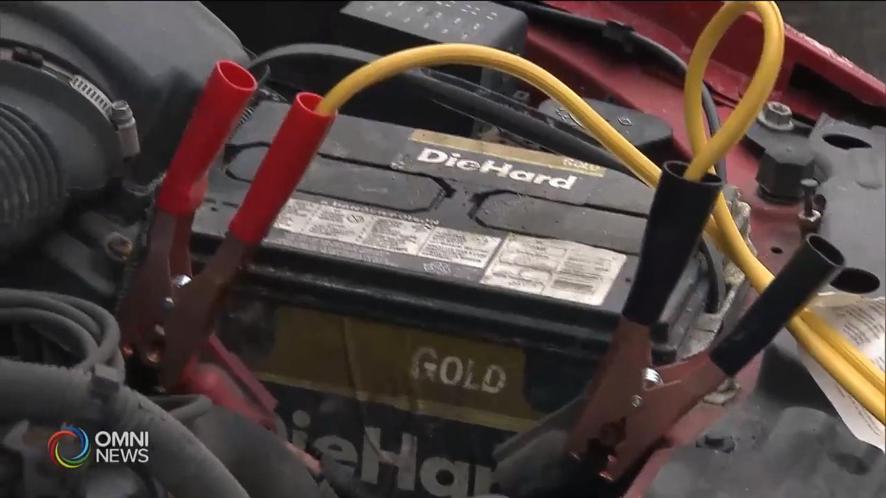 冬天来临,加拿大汽车协会提醒司机检查汽车电池  – Nov 13, 2018(ON)