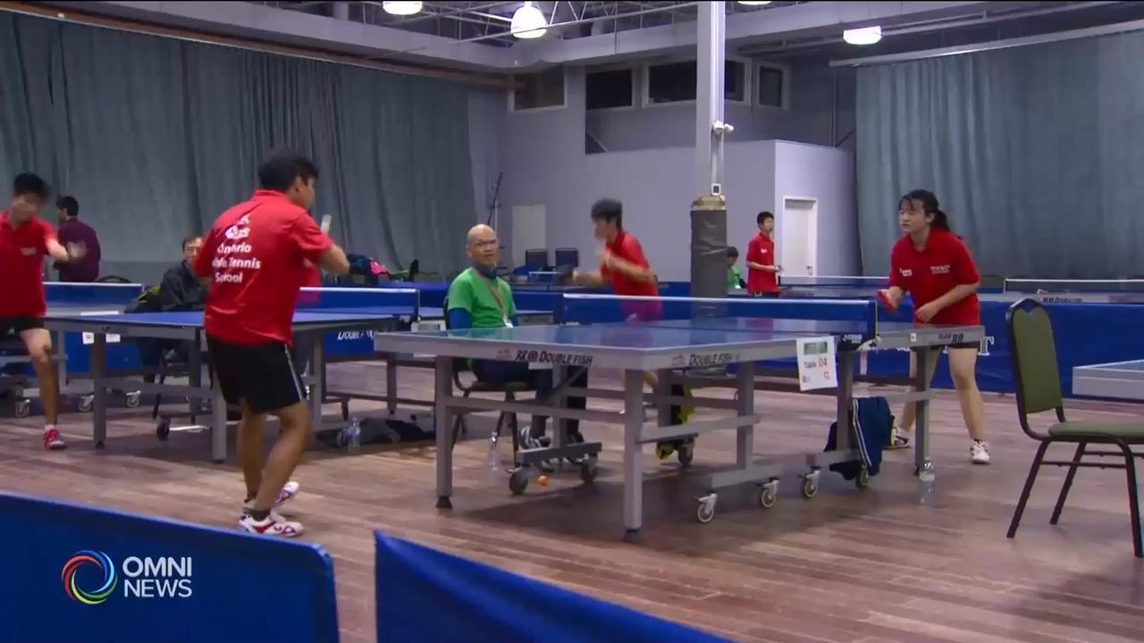 大型青少年乒乓球比赛,亲子同欢 – Nov 19, 2018(ON)