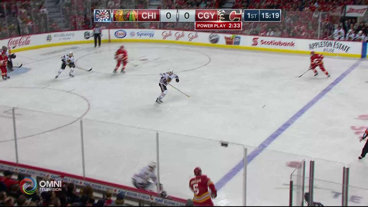 Monahan Goal 1-0 Calgary