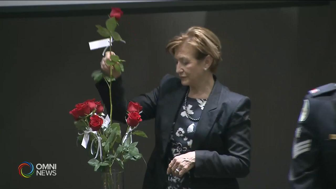 紀念暴力遇害女性 — Dec 06, 2018 (ON)