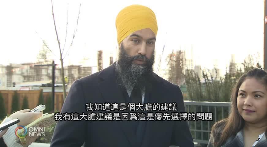 本拿比南選區國會議員補選 李燦明將參選(BC) – 2019JAN21