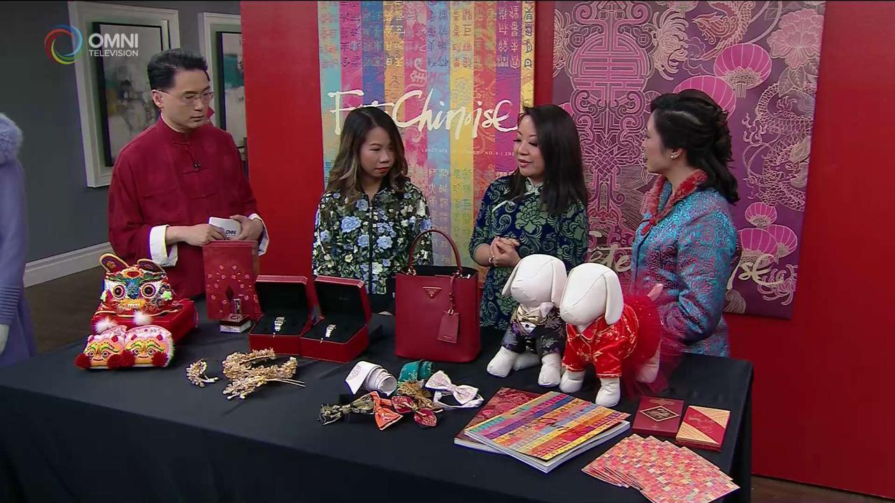 第二節:著名設計師展示華麗新年商品及時尚春裝
