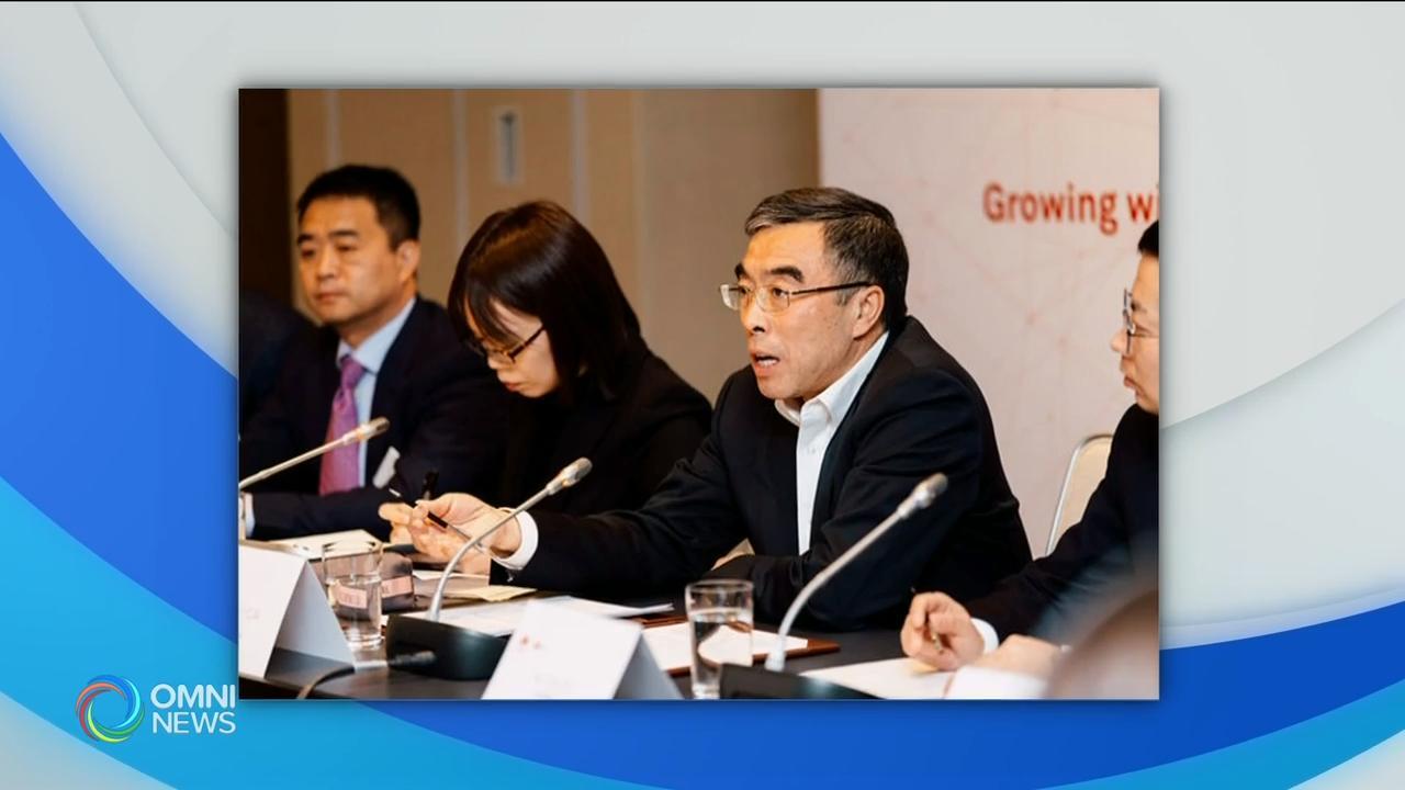 中国华为公司董事长在多伦多举行媒体见面会 – Feb 21,  2019(ON)