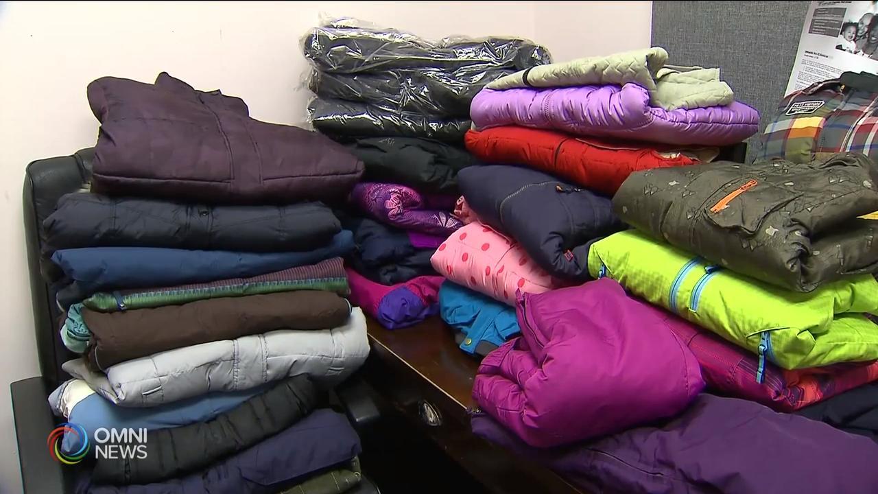 社区组织募集冬衣 帮助有需要民众  – Feb 14, 2019(ON)