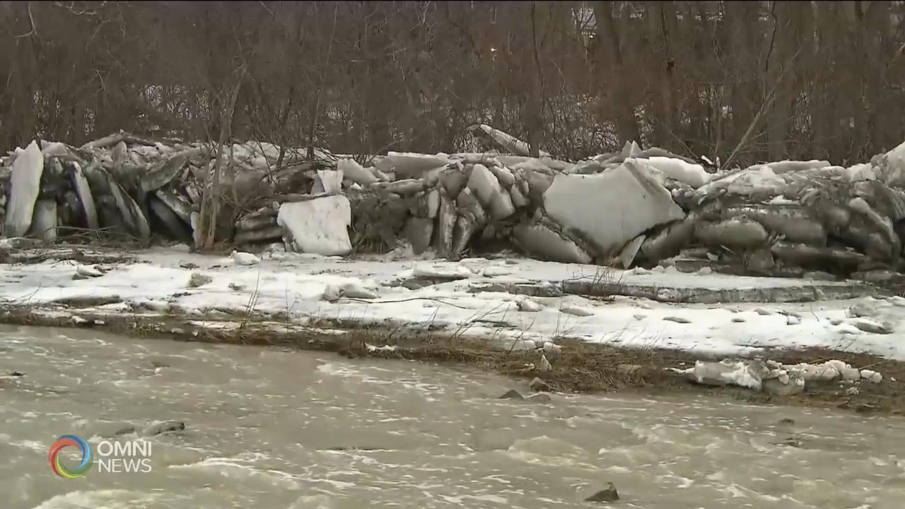天氣回暖,當局發出河流泛濫警告 — Mar 14, 2019 (ON)