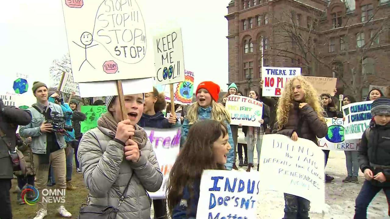 #FridaysForFuture: i giovani di Toronto