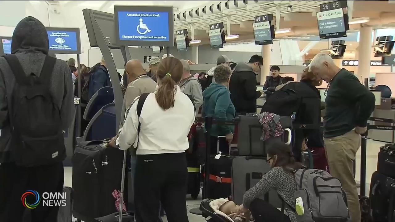 兩款波音客機停飛航班影響嚴重 — Mar 14, 2019 (ON)
