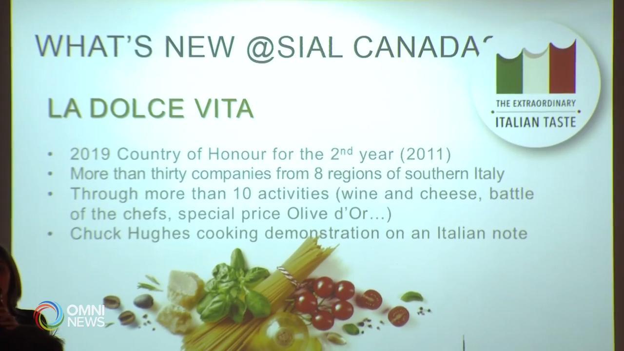 SIAL Canada: il meridione a una delle più grandi fiere food del mondo
