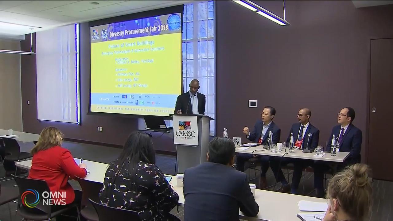 多元化採購洽談會為族裔商家搭建平台 — Apr 17, 2019 (ON)