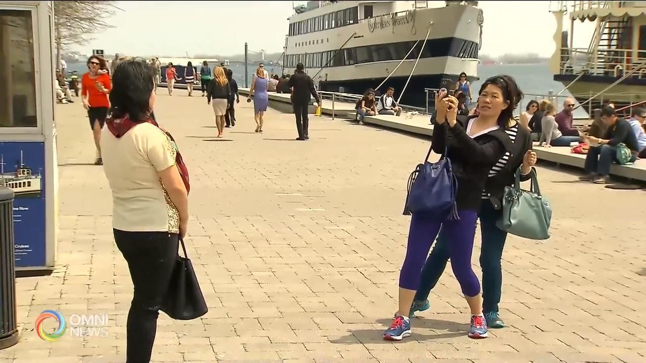 今年第一季, 加中两国游客互访大幅减少  – Apr 16, 2019    (ON)