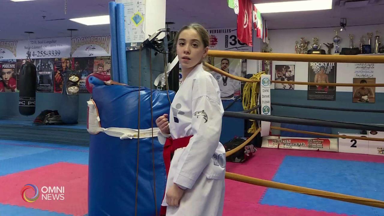 Delia Di Paola, 13 anni e campionessa di taekwondo