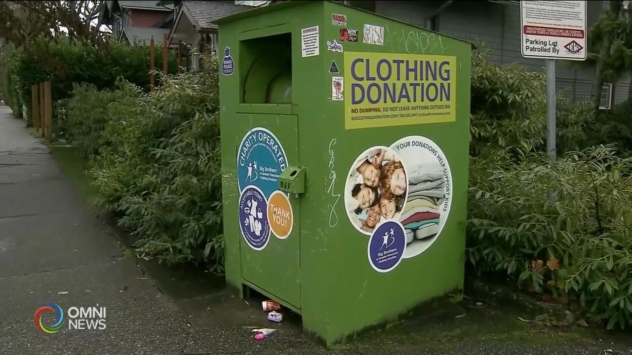 規管慈善衣物收集箱安全標準 — May 15, 2019 (ON)