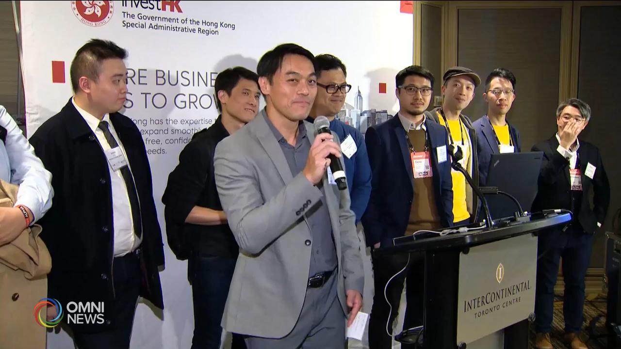 香港創新科技代表團參與多倫多會議 — May 22, 2019 (ON)