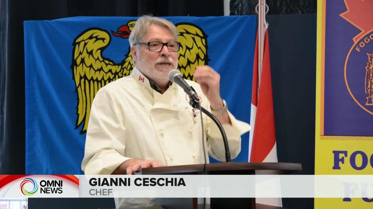 Il Fogolar Furlan di Ottawa celebra 50 anni con un ospite speciale, lo chef Gianni Ceschia