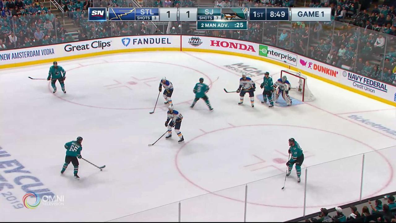Pavelski Goal