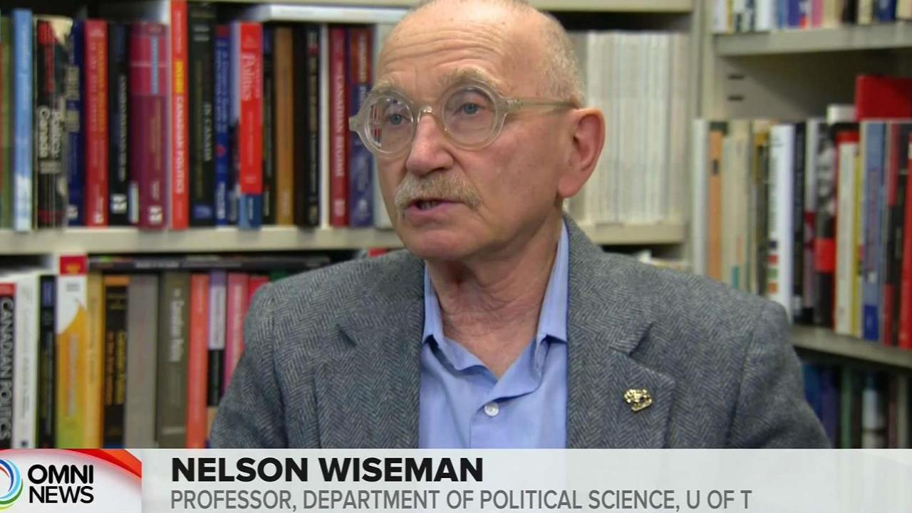 CANADIAN POLITIC ANAYLISIS WITH PROFESSOR WISEMAN