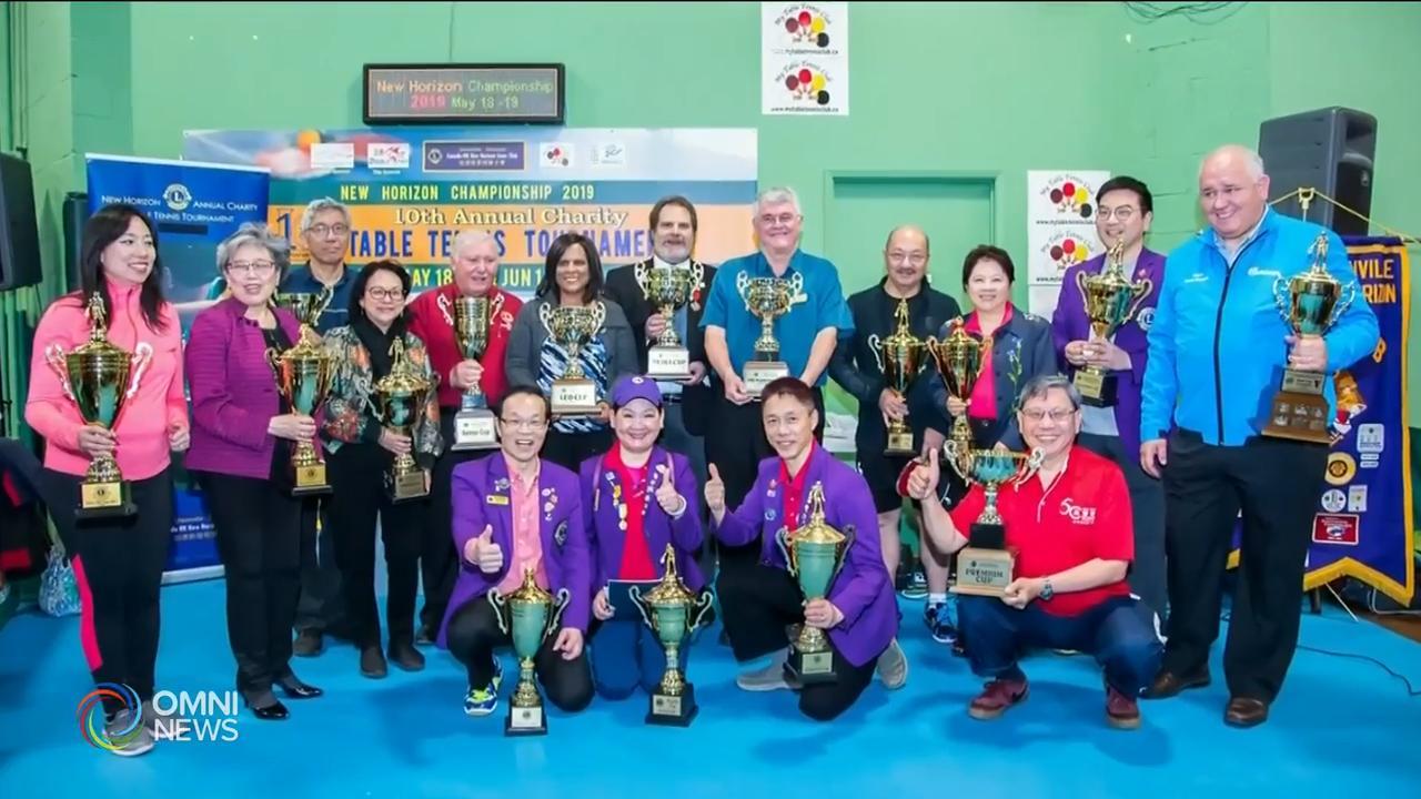 加港新里程獅子會慈善乒乓球錦標賽 — May 21, 2019 (ON)