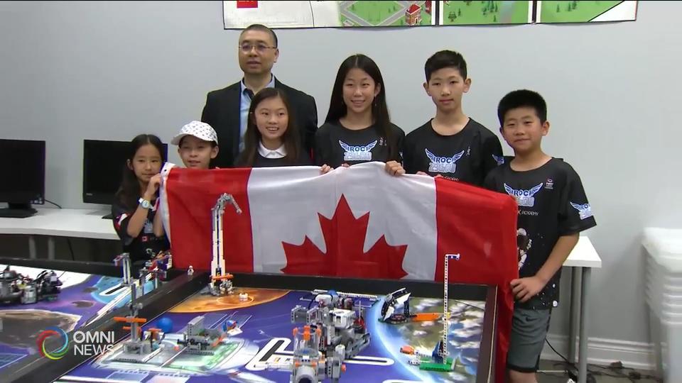 華裔團隊代表本國參加機器人國際大賽 — Jun 14, 2019 (ON)