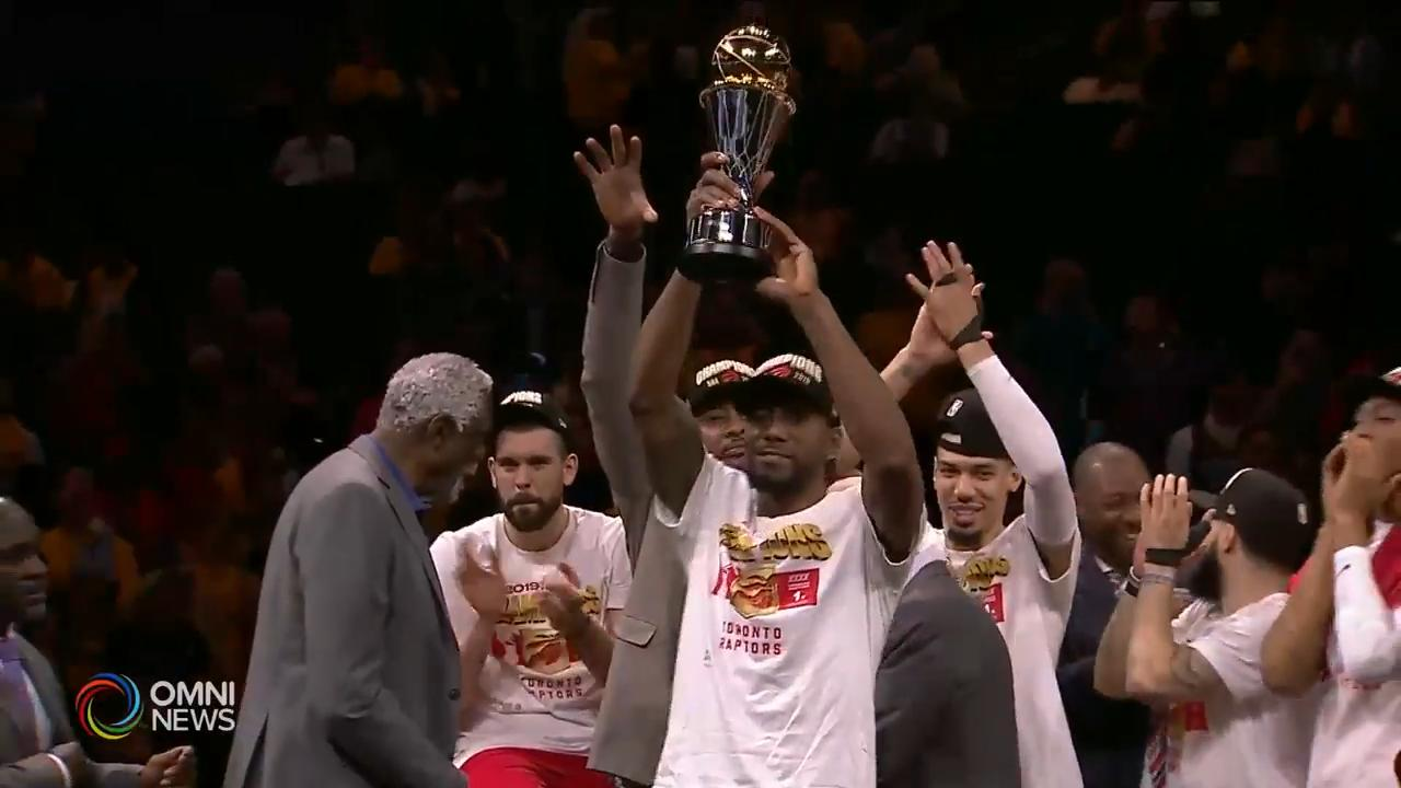 猛龍第六場力克金州勇士奪NBA總冠軍 — Jun 14, 2019 (ON)
