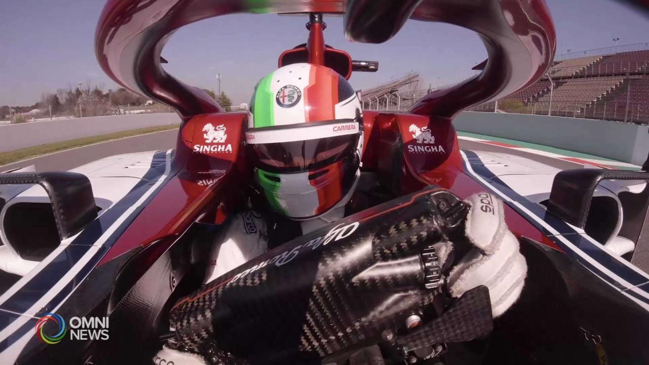 Intervista esclusiva con Antonio Giovinazzi, pilota di Formula 1: prima parte