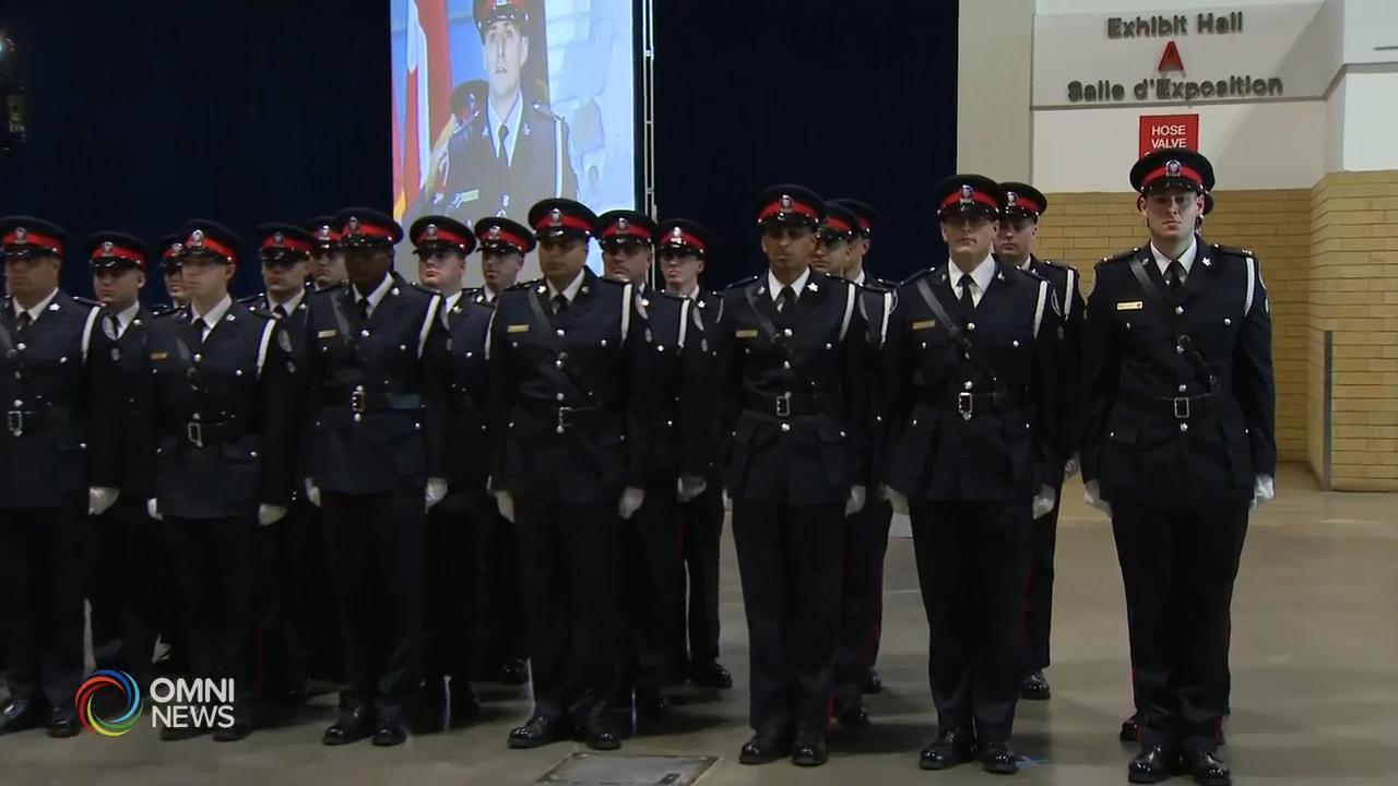 多伦多警队举行新警员毕业礼  – Jun 11, 2019 (ON)